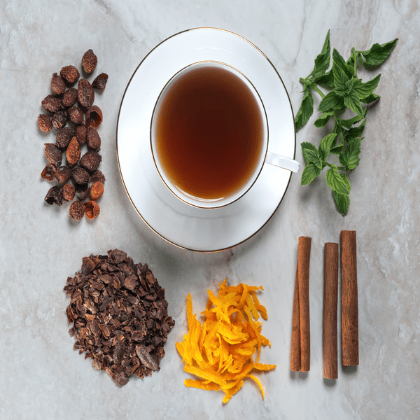 Chocolate Herbal Spicy Mint Tea