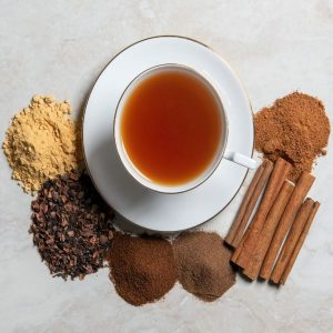 Chocolate Pumpkin Spice Tea