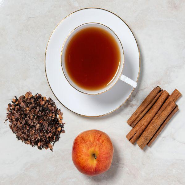 Chocolate cinnamon Apple Tea