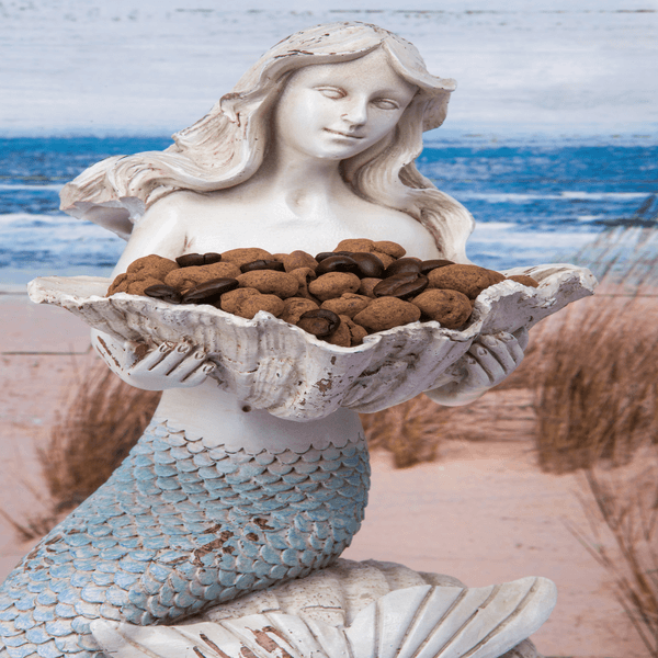 Mermaid with Coffee Beans