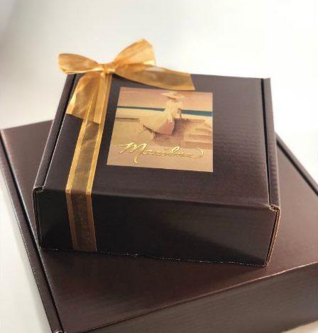 Large Chocolate Gift Box