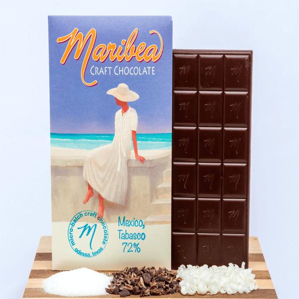 Mexico Tabasco Chocolate Bar