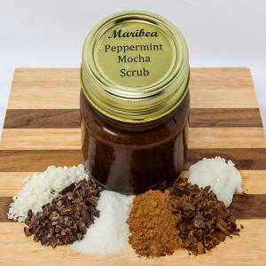 Peppermint Mocha Scrub