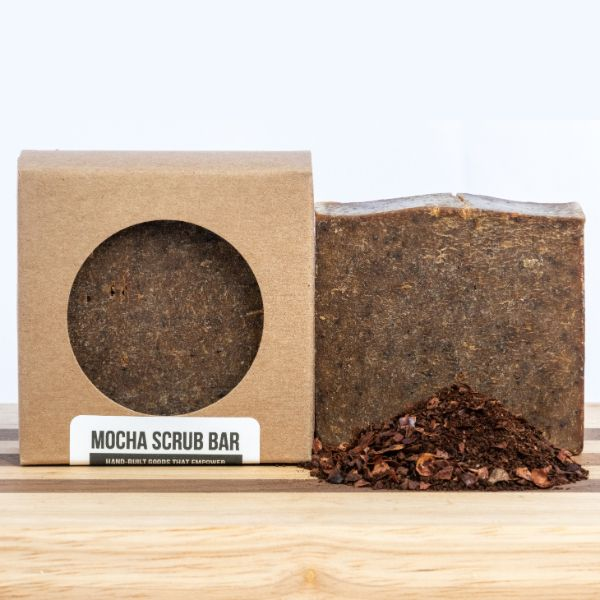 Mocha Scrub Bar